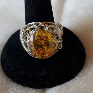 Other - Citrine ring-size 11
